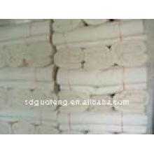 telas grises crudas de la lona de algodón