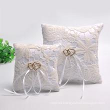 venta al por mayor alta calidad hermosa boda decoración portador almohada almohada