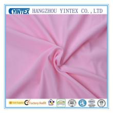 Tissu rose de polyester (tissu yintex)