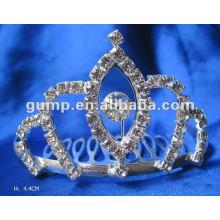 Crstal tiara comb (GWST12-109)