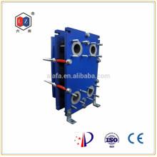 China calentador de agua de acero inoxidable, aceite hidráulico enfriador Alfa Laval TS6 recambio