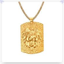 Moda jóias colar de moda pingente de aço inoxidável (nk747)