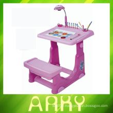 Table d'apprentissage pour enfants de haute qualité avec tableau de dessin