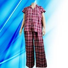 100% Baumwolle Dame Allover Print Pyjamas