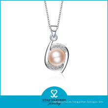 Colgante de la plata esterlina de la joyería 925 al por mayor de China de la perla (N-0099)
