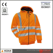 High Visibility Jersey Inside Brushed Sweatshirt