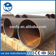 Structure d'alimentation ASTM A500 A252 A572 A53 Tuyau en acier LSAW