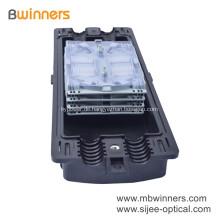 Wasserdichter 96-adriger 2-in-2-out-Glasfaser-Spleißverschluss für den Außenbereich