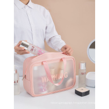 PVC Transparent Waterproof Cosmetic Bag Travel Toiletry Bag Cosmetic Storage Bag Makeup Bags
