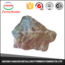 Anyang production ferrochrome block used as reducing agent in the production of iron alloy