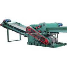 Plantilla de construcción de máquina trituradora para residuos de madera