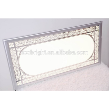 Panel de luz de techo decorativo, dimmable led moderna luz led para montaje en superficie