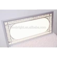 Painel de luz de teto decorativo, dimmable levou luz conduzida modernas de montagem em superfície