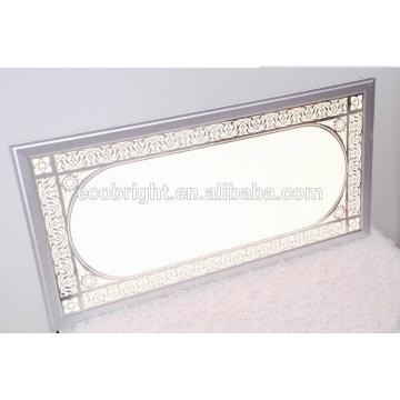 Декоративные потолочные световой панели, затемняемый светодиодные наштукатурная современные Светодиодные