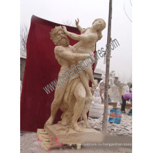 Мраморная резьба Статуя Античная скульптура Резной камень для украшения сада (SY-X1191)