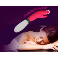 Producto sexual para mujer Vibradores de silicona para mujer Injo-Zd084