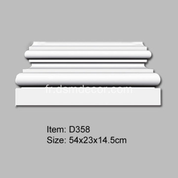 Base Doric Pu Pilaster simple