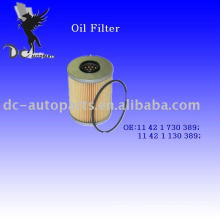 Oil Filter Element 11 42 1 730 389 For BMW