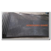 Hochleistungs-Kettenfaden Biaxial Wasserlösliches PVC-beschichtetes Polyester-Geogitter mit CE-Zertifikat