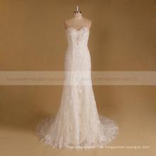 Trägerlose Sommer-Vestidos de novia Hochzeitskleid 2016