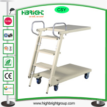 Collapsible Rolling Step Ladder Truck Trolley Cart