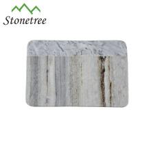 Placa de queijo de mármore de ardósia, tábua de corte de pedra