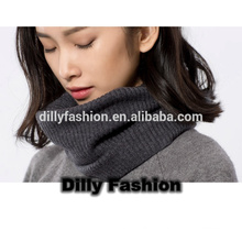 Novo Hot Winter Fashion Style Knitting Lã Collar Neck Heatmer Ring Scarf Lady Scarf
