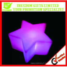 Couleur changeante Promtoional Star Shaped LED Light