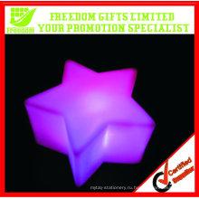 Изменение цвета Promtoional Звезда shaped светодиодные