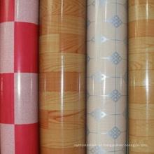 Revestimento impermeável do PVC do revestimento do vinil de 100% WPC