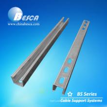 Soportes de acero para bandeja de cable de malla de alambre
