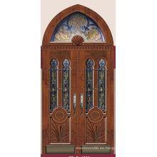 Italia puerta de acero blindada puerta dormitorio proveedor China (D4003)