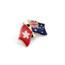 Insignias de banderas nacionales, pines de solapa metálica (GZHY-LP-029)