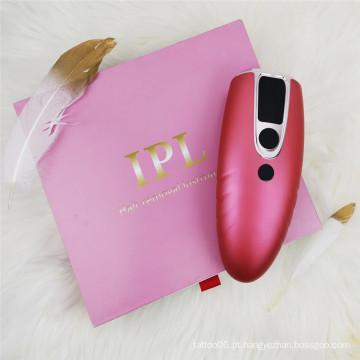 máquina de depilação permanente ipl para uso doméstico