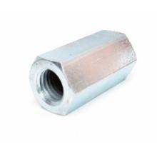 Tuercas de acoplamiento hexagonal de acero al carbono DIN 6334