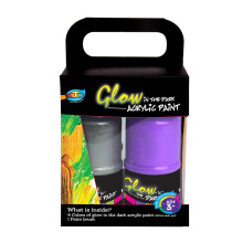 A0225 4*120ml Glow in the Dark Art Paint