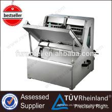 Rebanadora de pan industrial automática profesional de acero inoxidable