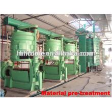 Maquinaria de refinação comestível de óleo de sementes de girassol 30-300T / D com CE e ISO for sale