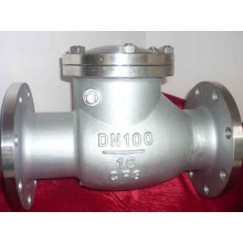 China Valve Factory Stainless Steel Swing Check Valve in Flange