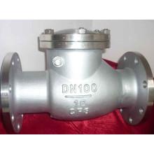 Válvula de retenção do aço inoxidável da fábrica da válvula de China na flange