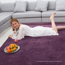 china lieferant wasserdicht im freien teppich 100% polyester gedruckt wasserdicht weichen zottigen teppich