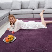 Chine fournisseur imperméable à l'eau extérieure tapis extérieur 100% polyester imprimé imperméable à l'eau douce tapis shaggy