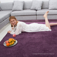 china fornecedor impermeável ao ar livre tapete ao ar livre 100% poliéster impresso impermeável macio tapete desgrenhado