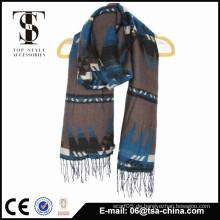 Neueste Dame Mode original aztekischen Jacquard Schals & Schals