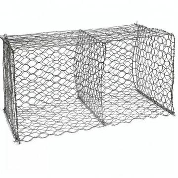 Габионная сетка для защиты от наводнений с шестигранной сеткой