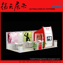 6x9m Burly Medium China Shanghai Wooden Ice Cream Booth Design