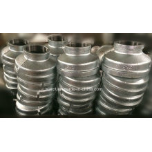 """6*3"""" Banded Galvanized Reducer Malleable Iron Pipe Fittings"""