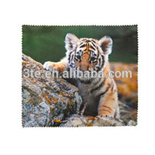 Colorful printed pattern lens cleaning cloth