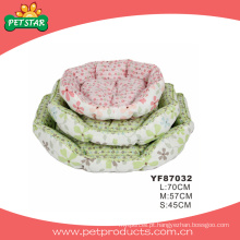 Tecidos de flores para camas de cachorro (yf87032)