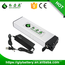 18650 li ion 8A 10ah 48V rechargeable e-bike battery, 36 volt lithium ion battery for electric bicycle
